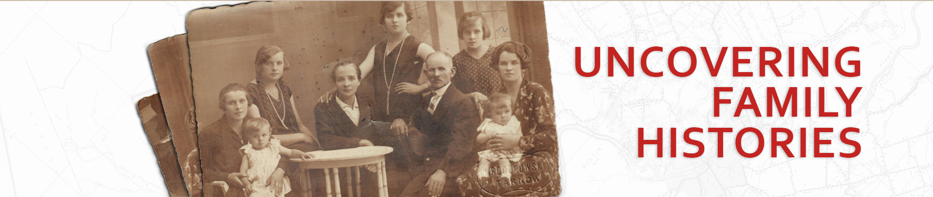 Uncovering Family Histories