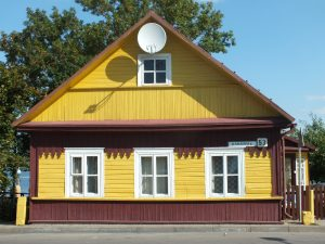 Trakai, Karaite house. Picture by Aw58