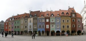 Old town in Poznan