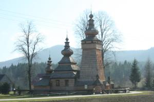 Polish wooden church