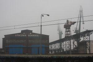 Shipyard in Gdańsk