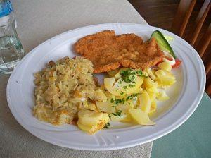 Tastes od Poland schabowy pork chop