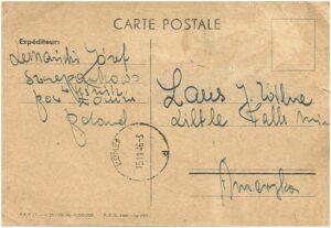 old Polish carte postale
