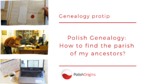 How to find the parish of my ancestors