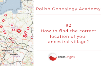 How to find the correct location of your ancestral village