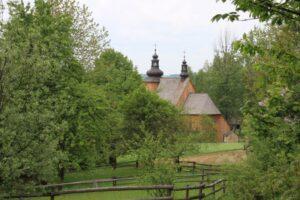 Polish old wooden church