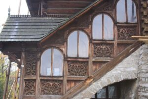zakopane wooden house