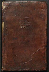 Manuscript of inventory of Krakow