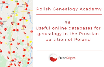 Useful online databases for genealogy in the Pussian partition of Poland.
